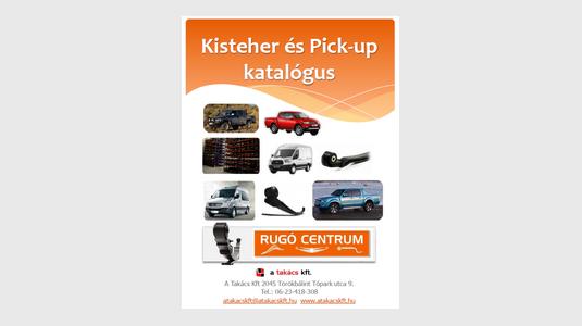 Kisteher - PICK UP katalógus